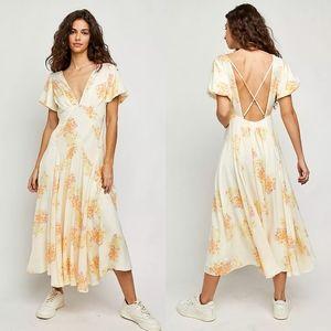 NWT Free People Laura Midi Dress